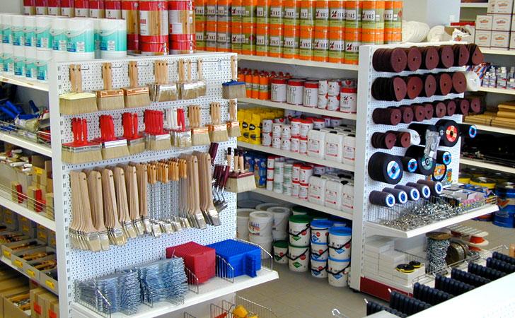 Scaffalatura supermarket riganelli scaffalature for Brico arredo